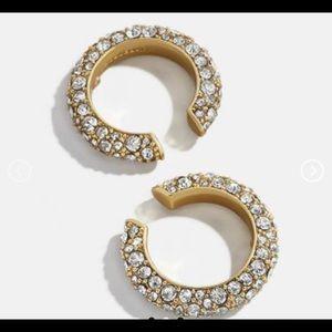 Gold Full Zirconia Ear Cuffs
